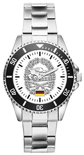 Soldat Geschenk Bundeswehr Artikel Panzergrenadiere Barettabzeichen Uhr 1218