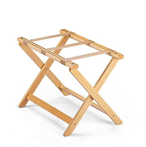 Find Discount ARIS BAGAGE - Folding Luggage Rack in Solid Beech Wood - Handcrafted in Italy - Natura...