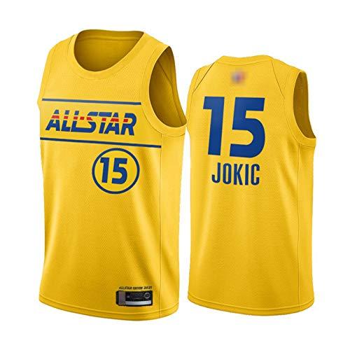 GGLL Team LeBron # 15 Nikola Jokic - Uniforme de baloncesto para hombre (talla M)