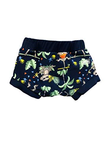 Banz Swimwear S19snnjs Nappe de Bain Tout-Petit, Navy Jungle Mix, Small Bébé Fille
