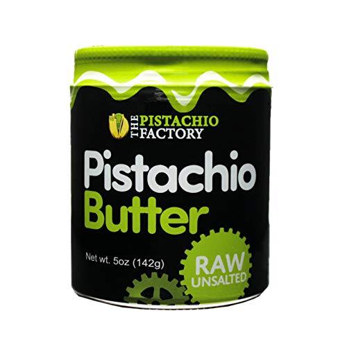 Pistachio Butter - Raw Unsalted (5oz Glass Jar)
