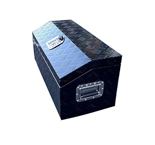 Brait BR302 Aluminum Tool Box for ATV Storage Truck Pickup RV, 30' L, Silver