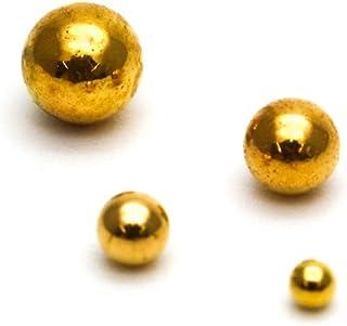 irogel イロジェル メタル ブリオン ボール 球体 ネイルパーツ ゴールド 約5~6g入