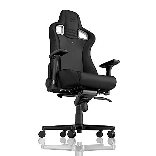 noblechairs Epic Gaming Chair - Office Chair - Desk Chair - PU Faux Leather - Black/Red
