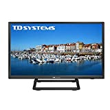 TD Systems K24DLX10H - Televisor 24', 1X HDMI, VGA, USB, 800 PCI Hz, Grabador Reproductor, DVB-T2/C/S2, Modo Hotel, Negro