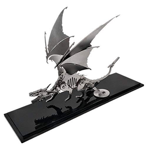TIB Heyne Puzzle Jigsaw DIY Edelstahl 3D-Modell Metal Assembly Kit Kindergeschenke Teen Erwachsene auch Dekorationen,DIY