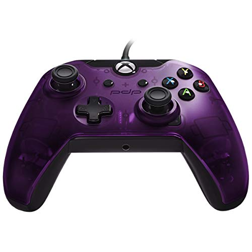 Manette filaire pour Xbox One/S/X/PC - violet