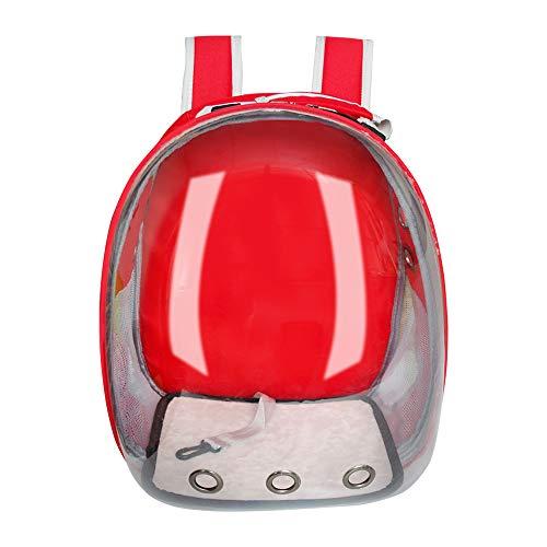 SHMMGD Transportbox Rucksack Space Capsule Bubble Transparenter Rucksack Katzen Welpen, Vom Luftfahrtunternehmen zugelassen, Entwickelt für Reisen, Wandern, Spazierengehen Verwendung im Freien