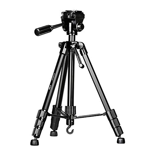 Video Tripod,Andoer 148cm/58.2inch Lightweight Camera Tripod Stand, with...