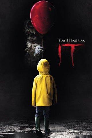 Stephen King's - ES - Georgie - Filmposter Kino Movie Poster 61x91,5cm + 1 Ü-Poster der Grösse 61x91,5cm