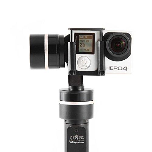 Feiyu Tech FY-G4QD 3-Axis Brushless - Junta con estabilizador para GoPro 4,3+, 3SJ4000 Xiaoyi AEE Sports Action Camera