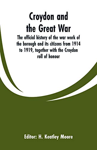 Croydon and the Great War Paperback