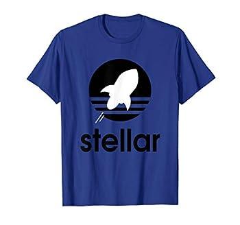 Stellar Lumens XLM Coin Bullish T Shirt for Blockchain Fans