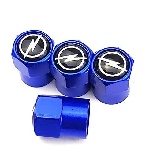 ACEACE 4 Pcs Metal Wheel Tire Valve Caps Stem Case For Car Badge Auto Accessories (Color : Rose Red)