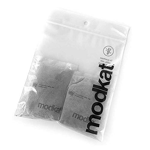 Price comparison product image Modkat Bamboo Charcoal Filter Refills 2-Pack