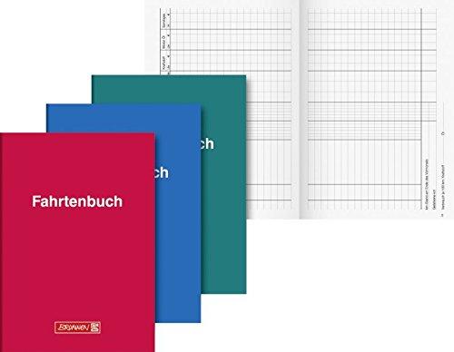 Brunnen Fahrtenbuch (2er Pack, A5 Softcover)