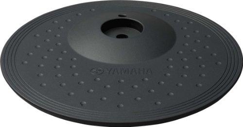 """Yamaha PCY100 10"""" 3-Zone """"choke-able"""" Electronic Cymbal Pad, Black"""