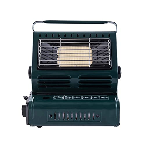 Hotaitai Portable Butane Heater, Personal Gas Space Heater with Convenient Handle, Adjustable, Outdoor Portable Heaters, for Camping, CE Certified (Renewed)