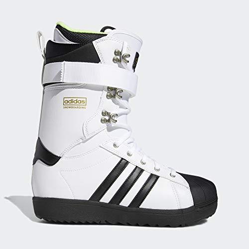 adidas Superstar ADV snowboardschoenen Cloud White/core Black/Gold metallic