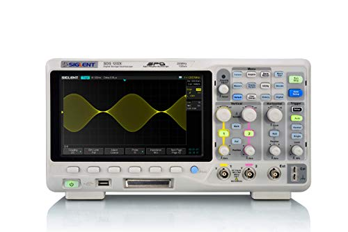 Siglent Technologies SDS1202X Digital Storage Oscilloscope, 200 MHz