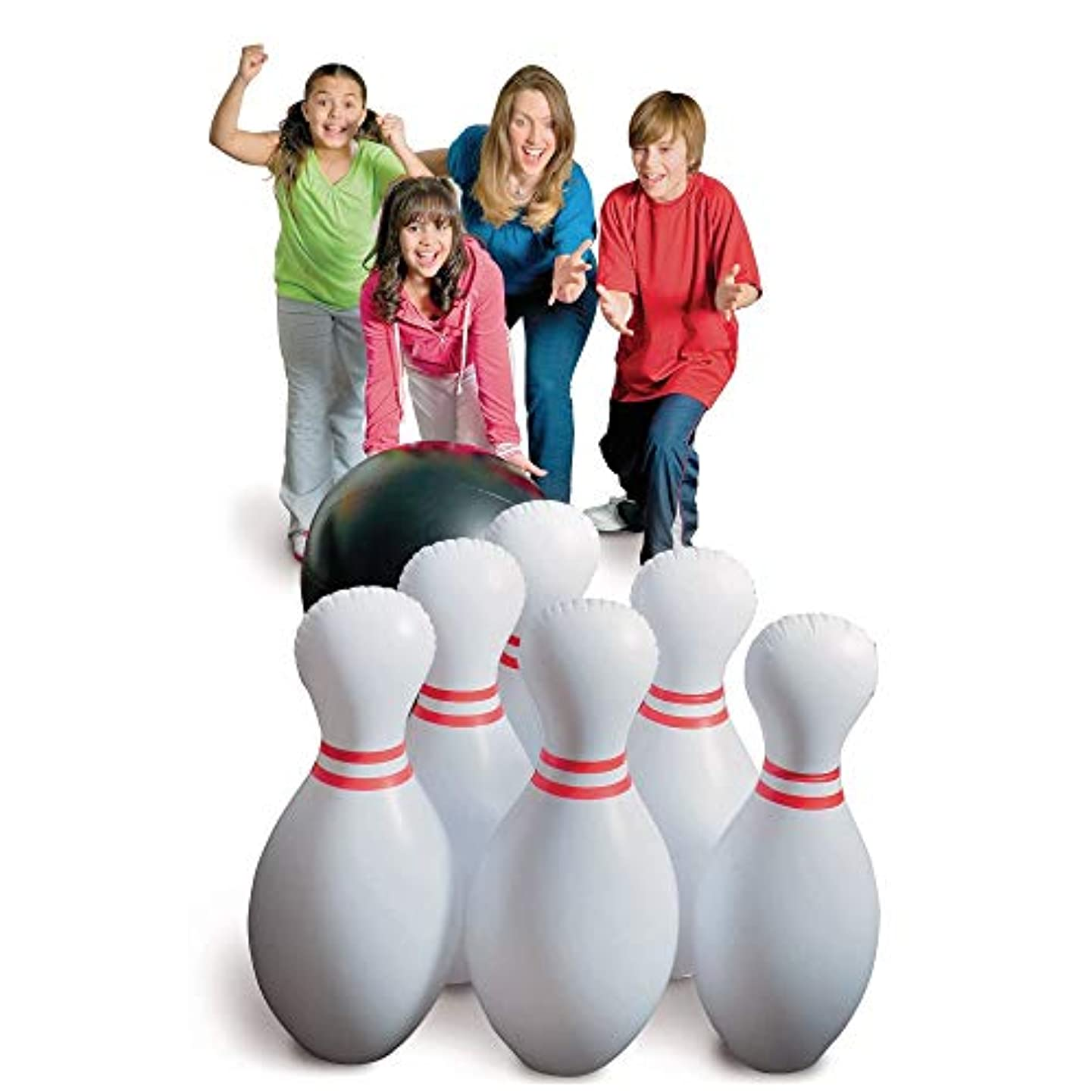 S&S Worldwide CF-10245 Jumbo Inflatable Bowling Set (Pack of 11)