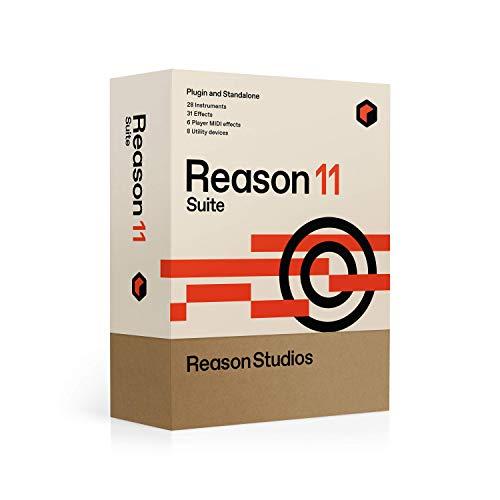 Reason 11 Suite UPGRADE DAW Software für Musik-Produktion und Recording (virtuelles Rack, 28 Instrumente, 31 Effekte, inkl.: riesige Soundbank mit 32.000 Gerätepatches, Loops, Samples uvm.)