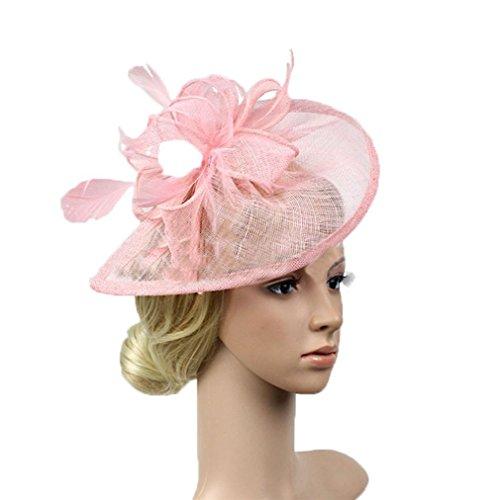 Da.Wa Perfecto Nupcial Tocado Sombrero de Encaje, Fiesta Decoración para Mujeres