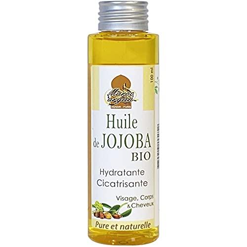 Huile de Jojoba BIO et naturelle - Nourrisante et Cicatrisante - Parfaite pour lutter contre l'acné - 100ml