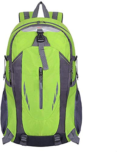 Outdoor Backpack Sports Mountaineering Bag Waterproof Travel Student School Bag Men and Women Backpack 6 (Color : 2, Size : XX-Large)