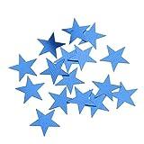 perfeclan 30g Stern Konfetti Streudeko für Weihnachten Hochzeit Valentinstag und Geburtstag - 5