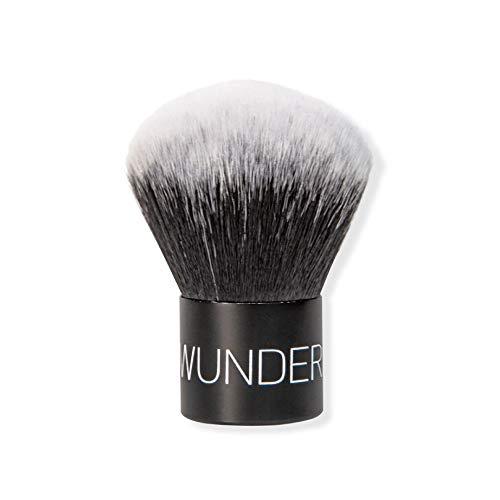 WUNDER2 KABUKI BRUSH Superweicher Makeup-Pinsel, ideal für Gesichtspuder, Makeup fixieren für makelloses Finish, Kosmetik-Pinsel