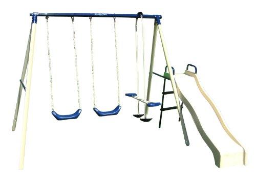 Big Sale Best Cheap Deals Flexible Flyer Swing N Glide III Swing Set with Plays