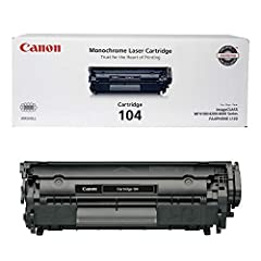 Single cartridge system includes toner, drum, and development Compact and easy to install Produces 2,000 pages at 5% coverage Virtually maintenance-free performance For use with select imageCLASS Faxphone printers