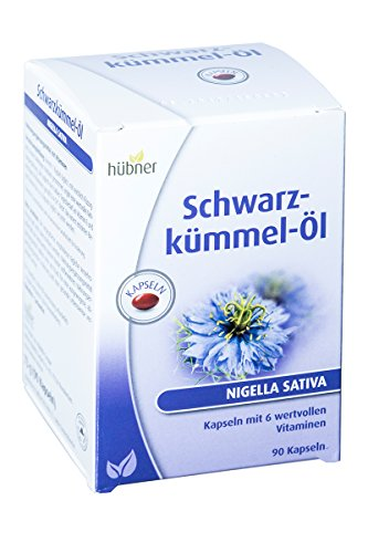 Hübner Schwarzkümmel-Öl Kapseln (90 Stück)