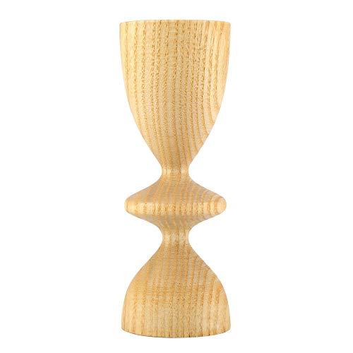 Baverta Ljushållare – träpelare ljusstake stativ för dekoration i hemmet