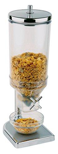 PROFI Müslispender / Cerealienspender aus Polycarbonat, GUSS und Edelstahl, Behälter herausnehmbar,