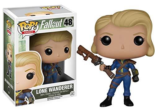 Funko - Figurina Fallout - Lone Wanderer Female Pop 10Cm - 0849803058494