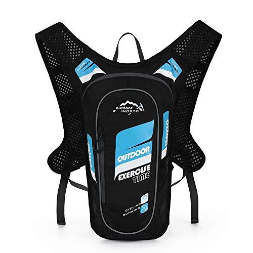 Sac à dos Sports de plein air Jour réfléchissant de conception réfléchissante de sac à dos léger de sac à dos d'hydratation résistant à l'eau avec l'isolation thermique parfaite pour faire du vélo, fa