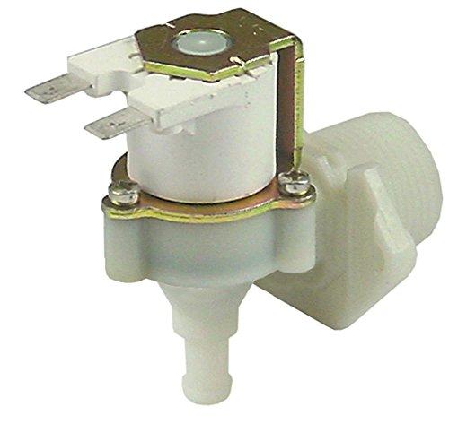 RPE Magnetventil Kunststoff 230V 1-fach passend für Dihr für Spülmaschine Electron1000, G12S, GS100, LP1, G12D, G12S, GASTRO-11-S, GASTRO-11-S-Isolata, GASTRO-11S, GASTRO-1200-S, GASTRO-1200-S-Isolata, GASTRO-1200S, Gastro11S, Gastro1200, G