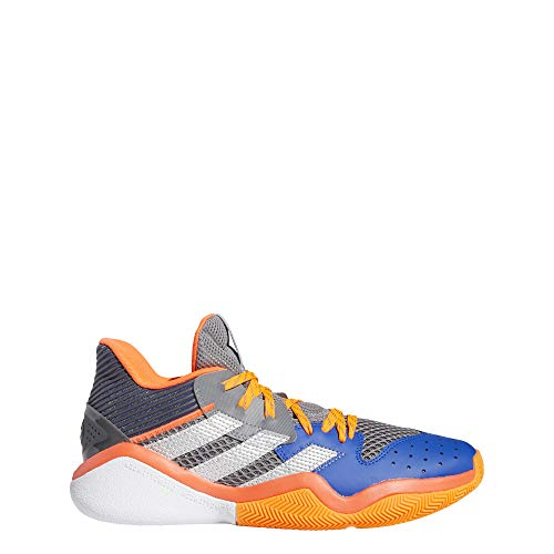 adidas Harden Stepback, Zapatillas Unisex Adulto, Gritre/Plamet/AZUREA, 43.33 EU