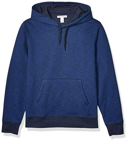 Amazon Essentials Hooded Fleece Sweatshirt Fashion-Hoodies, Navy Space-Dye, US XXL (EU XXXL-4XL)