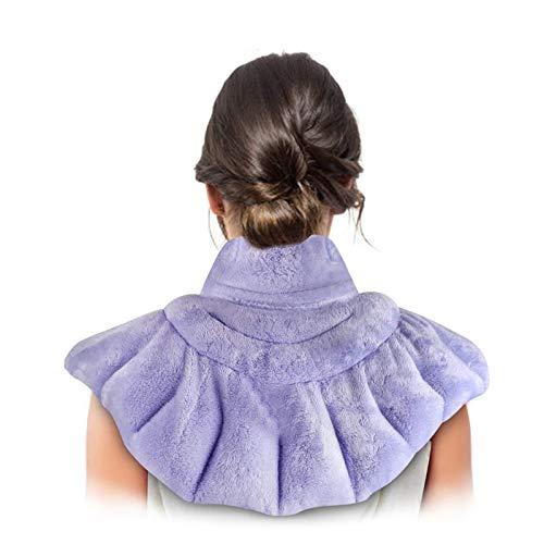 CZNDY Nacken-Schmerzkissen,Mikrowellengeeignetes Aufheizbares Nackenkissen zur Schmerzlinderung,Linderung von Migräne, Kopfschmerzen,Stress und Angststörungen, Kräuter-Aromatherapie