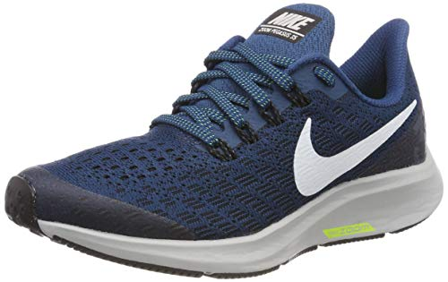 Nike Air Zoom Pegasus 35 (GS), Scarpe da Fitness Uomo, Multicolore (Blue Force/White/Black/Wolf Grey 402), 39 EU