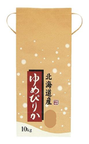マルタカ クラフトSP 保湿タイプ 北海道産ゆめぴりか こな雪 10kg用紐付 100枚セット KHP-017
