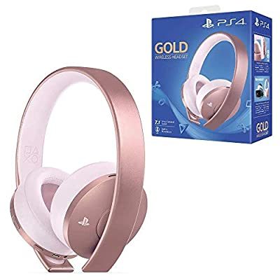 Gold Wireless Headset - Rose Gold Edition (PS4)