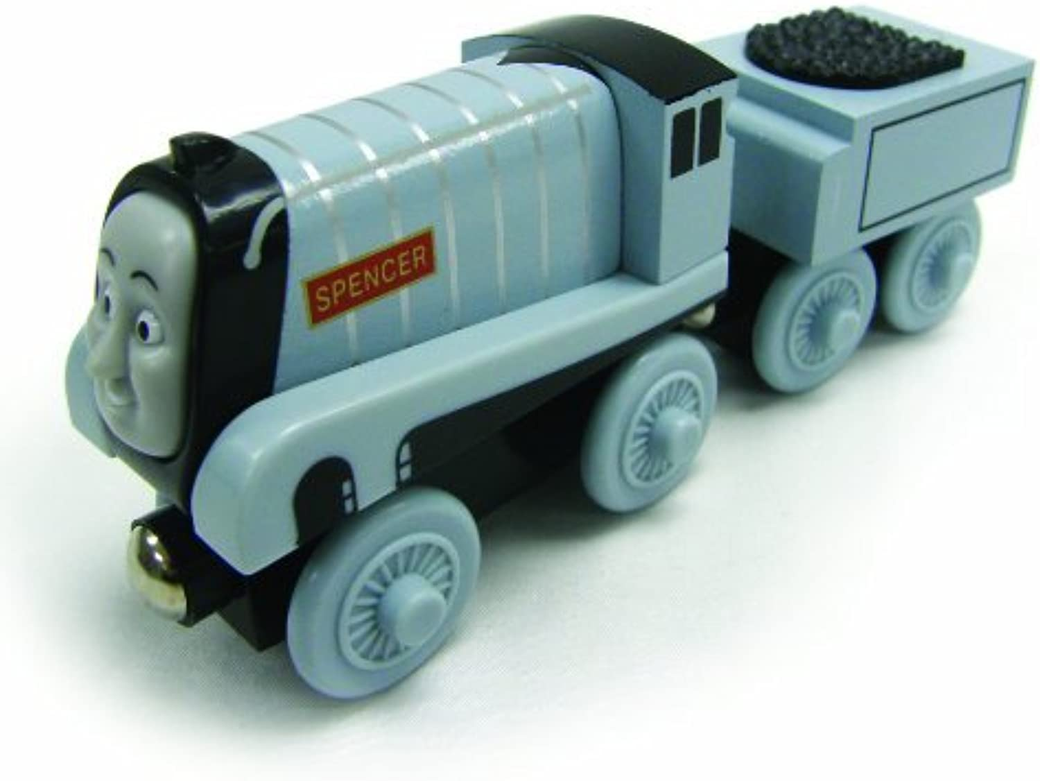 ¡No dudes! ¡Compra ahora! Thomas And Friends Wooden Railway - Early Early Early Engineers Spencer by Learning Curve  a la venta