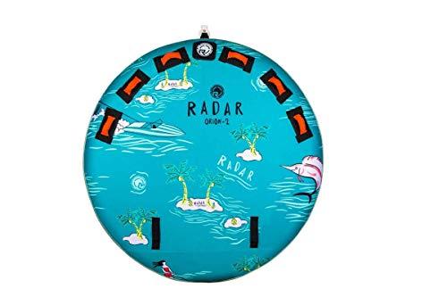Radar Orion 2 Marshmallow Top 2-Person Tube - Islands/Sea Foam/Coral