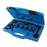 Lot de 10 outils de compresseur à ressort de valve 16 mm à 30 mm en acier carbone robuste avec finition en phosphate noir