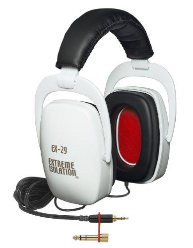 Direct Sound EX29 Extreme Isolation Professional Headphones - White