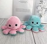 Polvo de Pelúcia Reversível Expressões de Humor - Azul e Rosa